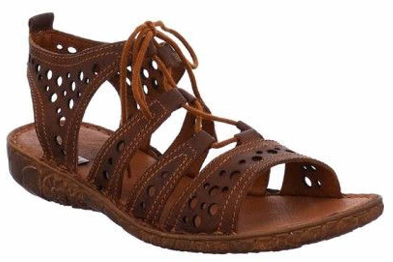 Josef Seibel Rosalie 15 Sandalen in Übergrößen Braun 79515 720 370 große Damenschuhe – Bild 4