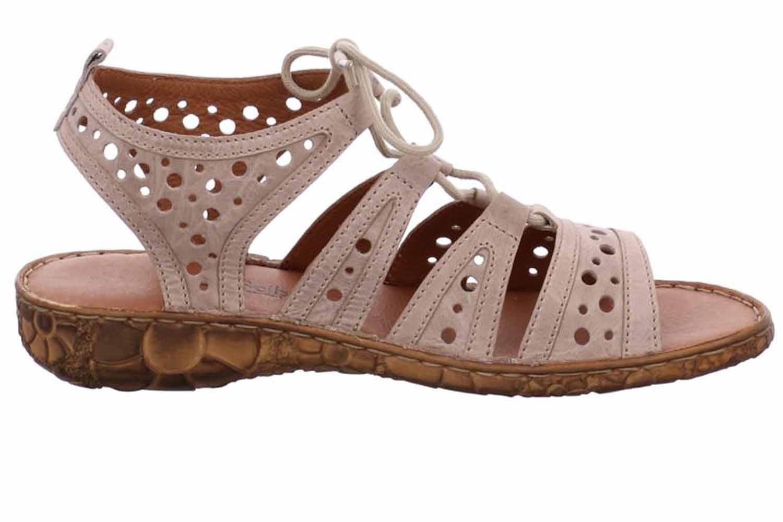 Josef Seibel Rosalie 15 Sandalen in Übergrößen Beige 79515 95 230 große Damenschuhe – Bild 4