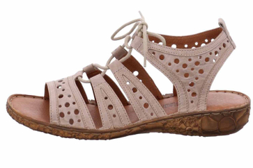 Josef Seibel Rosalie 15 Sandalen in Übergrößen Beige 79515 95 230 große Damenschuhe