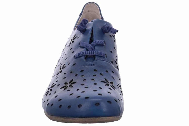 Josef Seibel Fiona 27 Halbschuhe in Übergrößen Blau 87227 971 540 große Damenschuhe – Bild 4