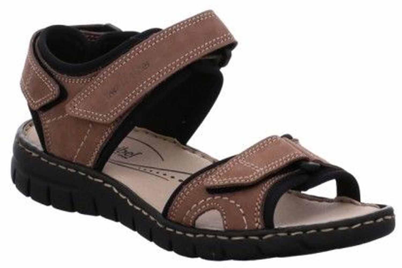 Josef Seibel Stefanie 01 Sandalen in Übergrößen Braun 93401 751 251 große Damenschuhe – Bild 4