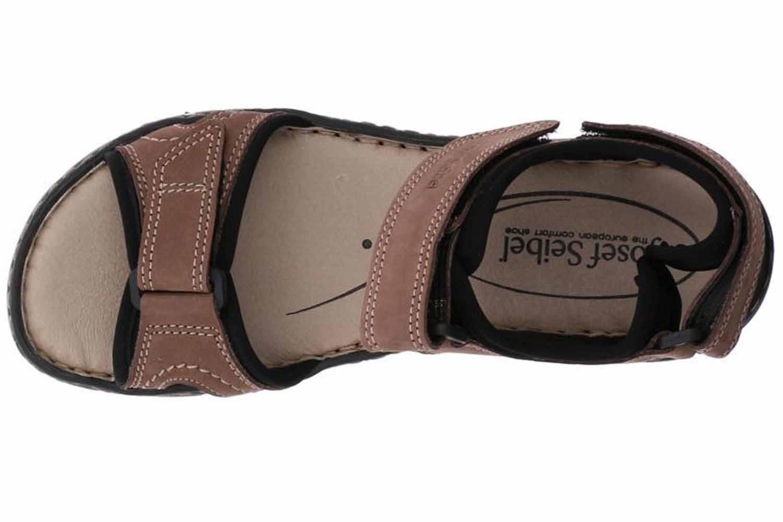 Josef Seibel Stefanie 01 Sandalen in Übergrößen Braun 93401 751 251 große Damenschuhe – Bild 7