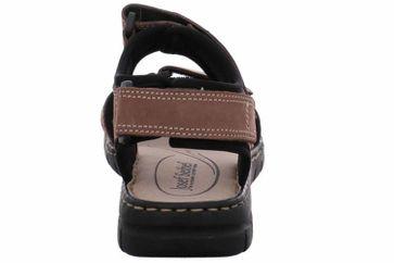 Josef Seibel Stefanie 01 Sandalen in Übergrößen Braun 93401 751 251 große Damenschuhe – Bild 3