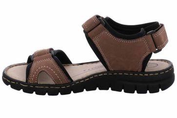 Josef Seibel Stefanie 01 Sandalen in Übergrößen Braun 93401 751 251 große Damenschuhe
