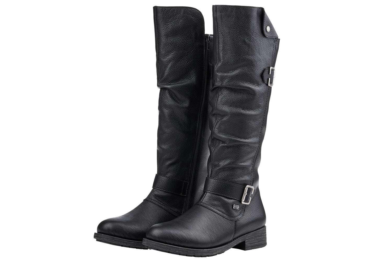 Remonte Stiefel in Übergrößen Schwarz D8075-02 große Damenschuhe – Bild 4
