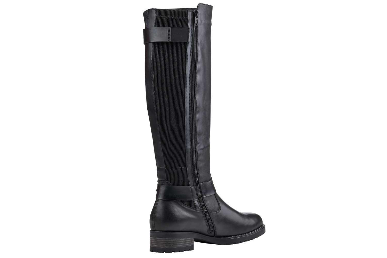 Remonte Stiefel in Übergrößen Schwarz D8284-01 große Damenschuhe – Bild 2