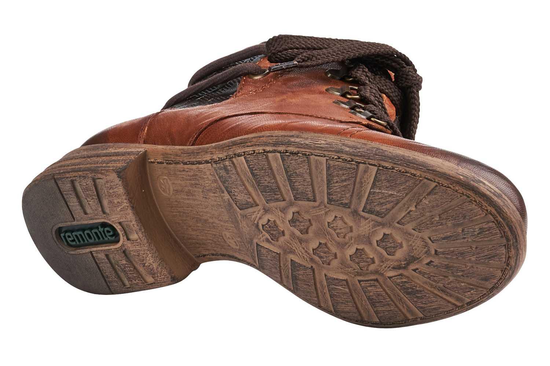 Remonte Stiefeletten in Übergrößen Braun D4977-22 große Damenschuhe – Bild 3