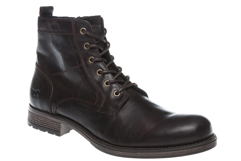 Mustang Shoes Boots in Übergrößen Dunkelbraun 4865-507-32 große Herrenschuhe – Bild 6