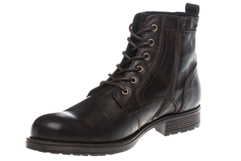 Mustang Shoes Boots in Übergrößen Dunkelbraun 4865-507-32 große Herrenschuhe – Bild 1