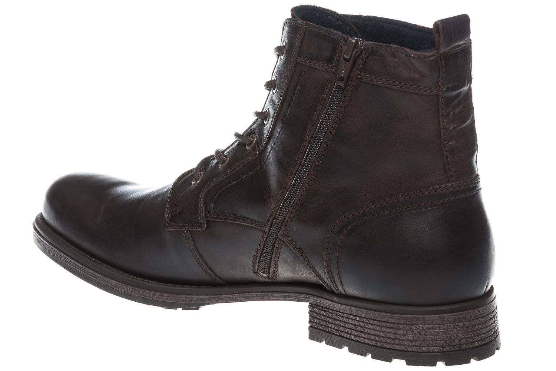 Mustang Shoes Boots in Übergrößen Dunkelbraun 4865-507-32 große Herrenschuhe – Bild 3