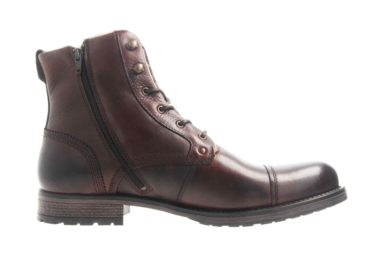 Mustang Shoes Stiefeletten in Übergrößen Dunkelbraun 4865-608-32 große Herrenschuhe – Bild 4