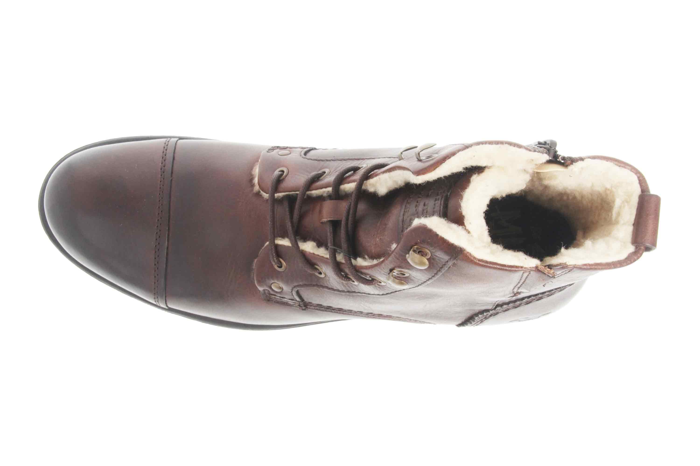 Mustang Shoes Stiefeletten in Übergrößen Dunkelbraun 4865-608-32 große Herrenschuhe – Bild 7