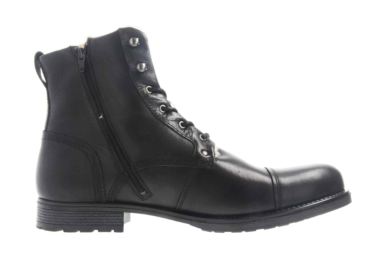 Mustang Shoes Stiefeletten in Übergrößen Schwarz 4865-608-9 große Herrenschuhe – Bild 4