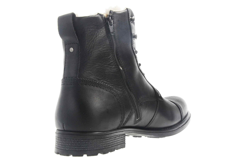 Mustang Shoes Stiefeletten in Übergrößen Schwarz 4865-608-9 große Herrenschuhe – Bild 3
