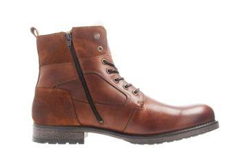 Mustang Shoes Stiefeletten in Übergrößen Kastanie 4865-610-301 große Herrenschuhe – Bild 4