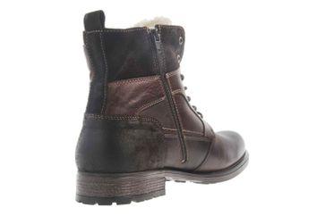 Mustang Shoes Stiefeletten in Übergrößen Dunkelbraun 4865-610-32 große Herrenschuhe – Bild 3