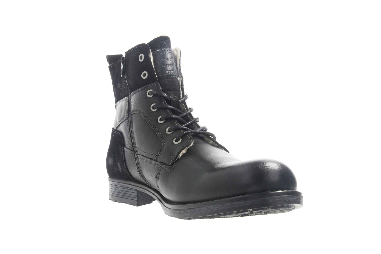 Mustang Shoes Stiefeletten in Übergrößen Schwarz 4865-610-9 große Herrenschuhe – Bild 5