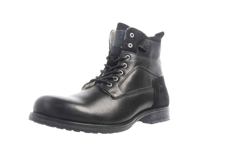 Mustang Shoes Stiefeletten in Übergrößen Schwarz 4865-610-9 große Herrenschuhe – Bild 6
