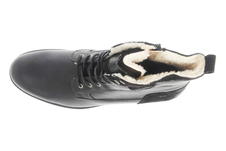Mustang Shoes Stiefeletten in Übergrößen Schwarz 4865-610-9 große Herrenschuhe – Bild 7