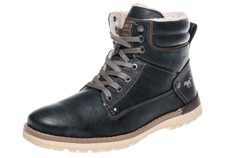 Stiefel Mustang Shoes Boots in Übergrößen Navy 4092 609 820