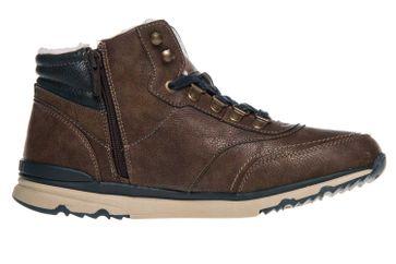 Mustang Shoes High Top Sneaker in Übergrößen Mittelbraun 4095-602-360 große Herrenschuhe – Bild 4