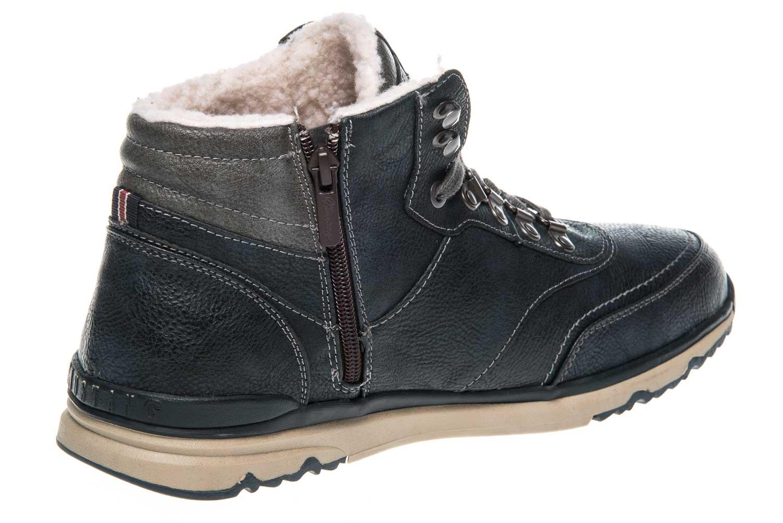 Mustang Shoes High Top Sneaker in Übergrößen Navy 4095-602-820 große Herrenschuhe – Bild 3