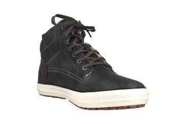Mustang Shoes High Top Sneaker in Übergrößen Dunkelgrau 4129-602-20 große Herrenschuhe – Bild 5