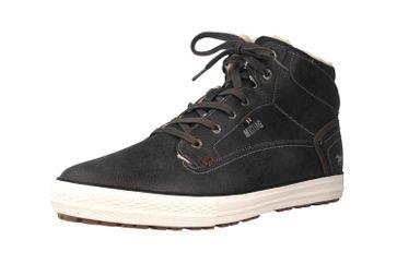Mustang Shoes High Top Sneaker in Übergrößen Dunkelgrau 4129-602-20 große Herrenschuhe – Bild 6