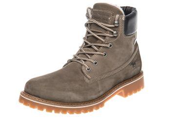 Mustang Shoes Boots in Übergrößen Taupe 4875-605-318 große Herrenschuhe – Bild 1