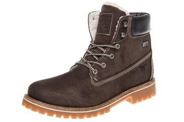 Mustang Shoes Boots in Übergrößen Dunkelbraun 4875-605-32 große Herrenschuhe – Bild 1