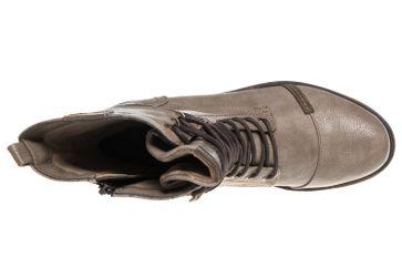 Mustang Shoes  Stiefeletten in Übergrößen Taupe 1229-509-318 große Damenschuhe – Bild 7