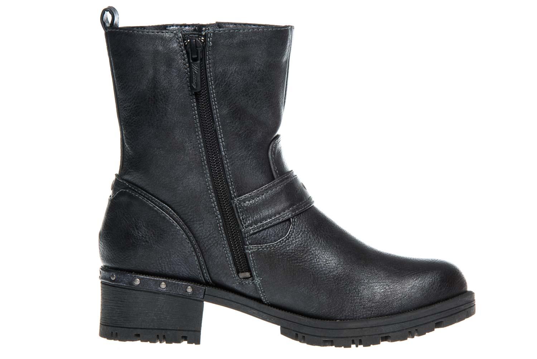 Mustang Shoes Boots in Übergrößen Navy 1283-502-820 große Damenschuhe – Bild 4