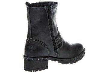 Mustang Shoes  Boots in Übergrößen Navy 1283-502-820 große Damenschuhe – Bild 3