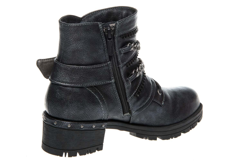 Mustang Shoes Boots in Übergrößen Navy 1283-503-820 große Damenschuhe – Bild 3