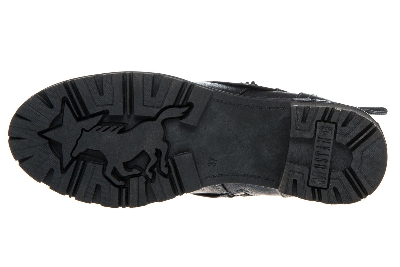 Mustang Shoes Boots in Übergrößen Navy 1283-503-820 große Damenschuhe – Bild 6