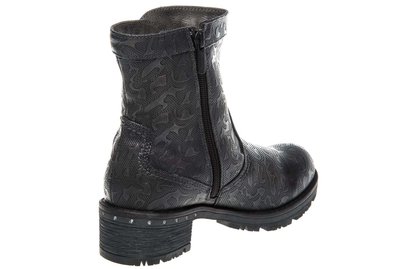 Mustang Shoes Stiefeletten in Übergrößen Graphit 1284-605-259 große Damenschuhe – Bild 3