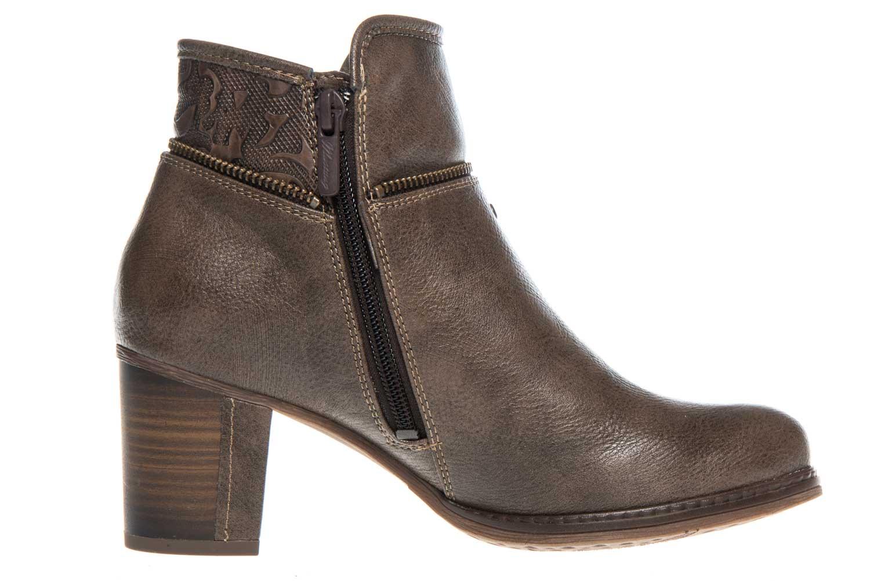 Mustang Shoes Stiefeletten in Übergrößen Kaffee 1286-501-306 große Damenschuhe – Bild 4