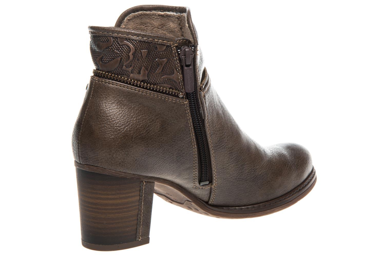 Mustang Shoes Stiefeletten in Übergrößen Kaffee 1286-501-306 große Damenschuhe – Bild 3
