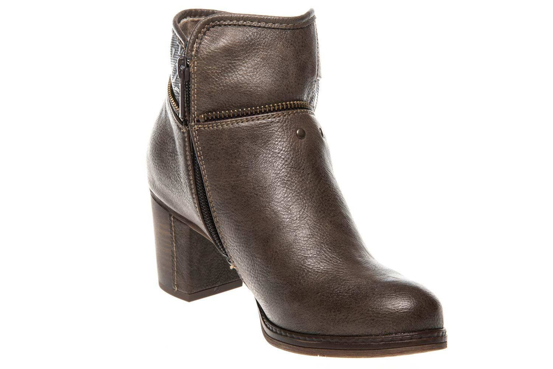 Mustang Shoes Stiefeletten in Übergrößen Kaffee 1286-501-306 große Damenschuhe – Bild 5