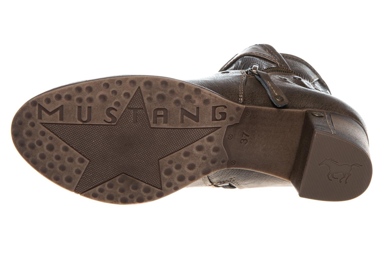 Mustang Shoes Stiefeletten in Übergrößen Kaffee 1286-501-306 große Damenschuhe – Bild 6