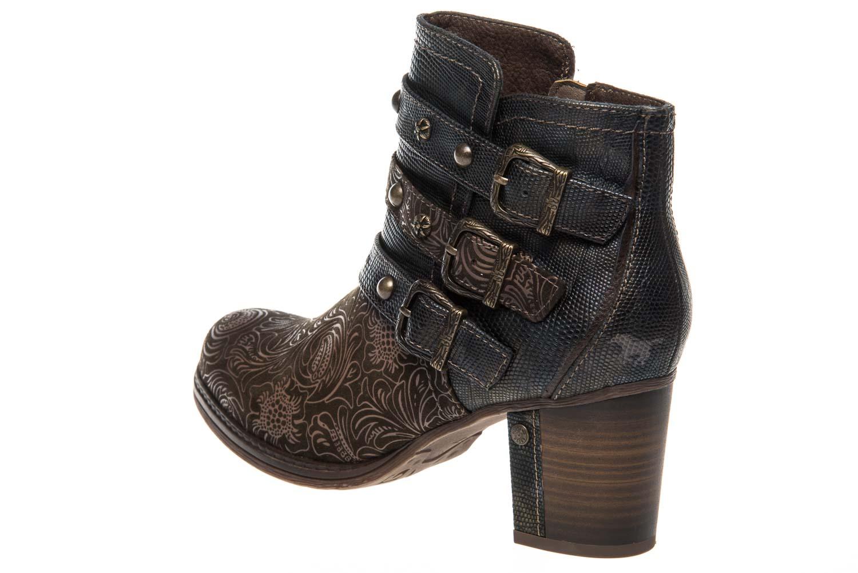 Mustang Shoes  Stiefeletten in Übergrößen Oliv 1286-504-77 große Damenschuhe – Bild 2