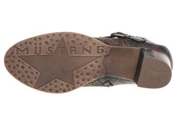 Mustang Shoes  Stiefeletten in Übergrößen Oliv 1286-504-77 große Damenschuhe – Bild 6
