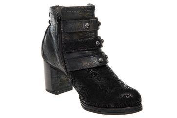 Mustang Shoes  Stiefeletten in Übergrößen Schwarz 1286-504-9 große Damenschuhe – Bild 5