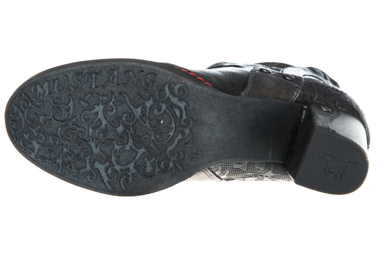 Mustang Shoes  Stiefeletten in Übergrößen Graphit 1287-502-259 große Damenschuhe – Bild 6