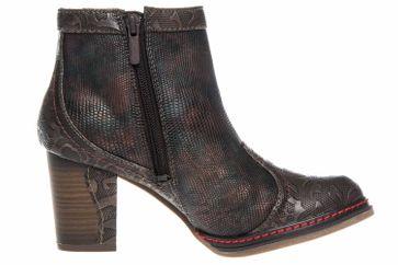 Mustang Shoes Stiefeletten in Übergrößen Cigar/Multi 1287-502-392 große Damenschuhe – Bild 4
