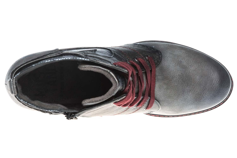 Mustang Shoes  Stiefeletten in Übergrößen Grau 1287-504-2 große Damenschuhe – Bild 8