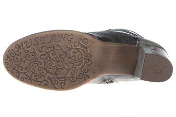 Mustang Shoes  Stiefeletten in Übergrößen Grau 1287-504-2 große Damenschuhe – Bild 7