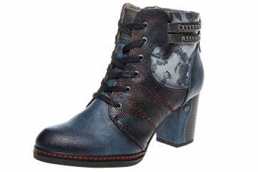 Mustang Shoes  Stiefeletten in Übergrößen Dunkelblau 1287-504-800 große Damenschuhe – Bild 1