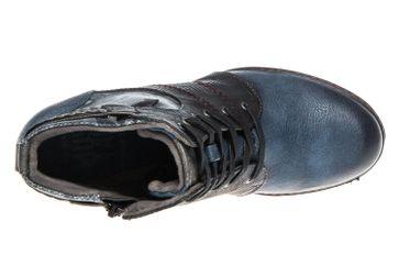 Mustang Shoes  Stiefeletten in Übergrößen Dunkelblau 1287-504-800 große Damenschuhe – Bild 7
