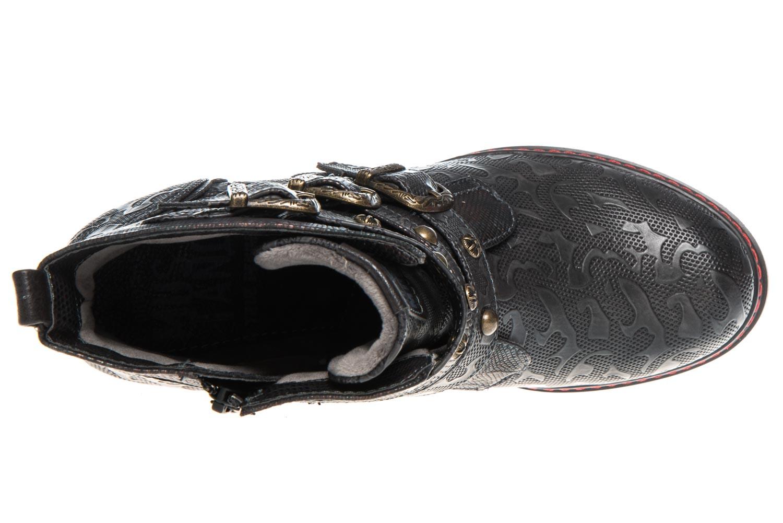 Mustang Shoes  Stiefeletten in Übergrößen Navy 1287-505-820 große Damenschuhe – Bild 7